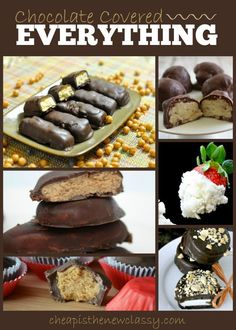 Like chocolate? Then this is for you! Check out this roundup of TASTY recipes - all of them covered in chocolate. Yum. :)  #chocolate #ValentinesDay #recipe #recipes #reciperoundup