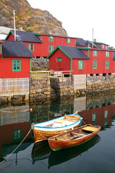 Stamsund Rorbu, Lofoten, Norway