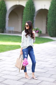 pink-peonies-fashion-blog - love the bag and shoes!!