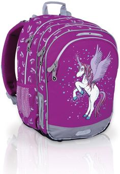 Topgal školní batoh CHI 605 I MAGENTA Magenta, Backpacks, Bags, Fashion, Handbags, Moda, Fashion Styles, Backpack, Fashion Illustrations