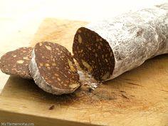 Salchichón de chocolate - MisThermorecetas