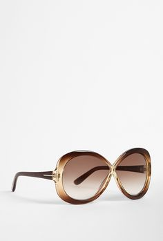 Margot Cross Over Bow Sunglasses from Tom Ford