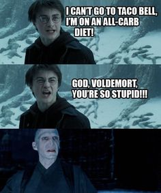 Harry Potter humor...
