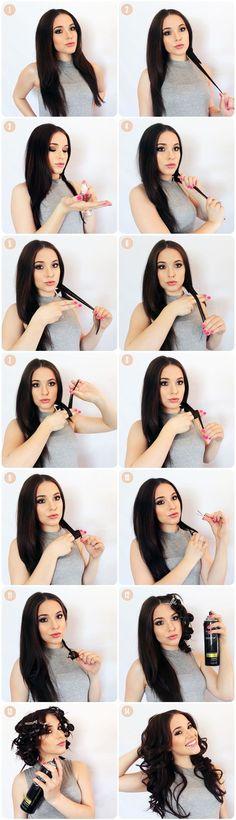 Maquillaje y peinado para San Valentín paso a paso