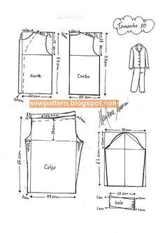 Burda Sewing Patterns, Kids Dress Patterns, Baby Patterns, Kids Summer Dresses, Crochet Baby Jacket, Kids Nightwear, Pajama Pattern, Kids Pajamas, Fashion Sewing
