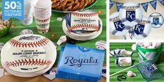 MLB Kansas City Royals Party Supplies - Party City