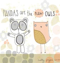 genine delahaye | Apparently so i'm told in the designer world, Pandas are the new ...