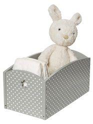 Caixa de arrumação estampada, para acessórios de bebé