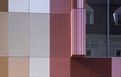 ECE-Stadtgalerie Passau facade - perforated metal sheets - by moradelli.de