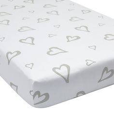 Abstract Affection Organic Cotton Crib Sheet – Shop Project Nursery