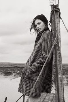 Karlina Caune for Margaret Howell F.W 14.15 Campaign by Glen Luchford - Fashion Copious