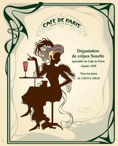 Crepe Suzette, Monte Carlo, Inventions, Restaurants, Dessert, Art, Kitchens, Art Background, Deserts