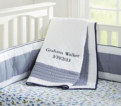 Love the gingham! Simple, sweet, and not themey. Just change the color depending on what they are.