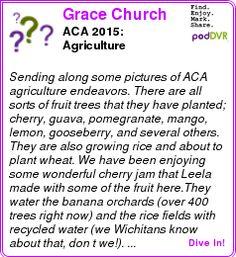 #UNCAT #PODCAST  Grace Church    ACA 2015: Agriculture    LISTEN...  http://podDVR.COM/?c=a43bba54-59bd-16ae-b1ab-73af96ad8ab2