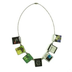 (96) Fab.com | C. Forsman Banned Book Necklace  very cool site lots of 'essentials' and I use the term very lightly    want it want it want it