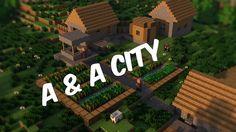 Minecraft village house designs inspirational minecraft village by on deviantart Minecraft Houses Xbox, Minecraft House Tutorials, Minecraft Houses Blueprints, House Blueprints, Village House Design, Village Houses, Cottage Bath, Farmhouse Floor Plans, Minecraft Survival
