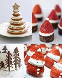 Maiko Nagao - diy, craft, fashion   design blog: Christmas dessert inspiration... #Christmas #thanksgiving #Holiday #quote