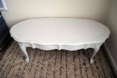 Shabby Chic Coffee Table by Lilson on Etsy, $110.00