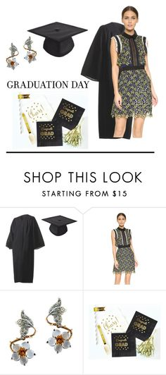 """""""Untitled #750"""" by lulubelle1972 ❤ liked on Polyvore featuring self-portrait and graduationdaydress"""