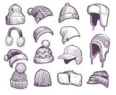 Drawing Hats, Cap Drawing, How To Draw Ears, Learn To Draw, Winter Drawings, Art Studies, Drawing Techniques, South Park, Drawing Reference