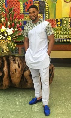 African Wear Styles For Men, African Shirts For Men, African Dresses Men, African Attire For Men, African Clothing For Men, Latest African Fashion Dresses, Nigerian Outfits, Nigerian Men Fashion, Indian Men Fashion