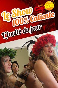 HIVA danses polynésiennes ! Ils ont mis l'ambiance dans les studios Radio CapSao !! Version girls !