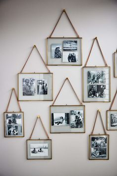 Gallery walls and photos displays should be constantly evolving in family homes.