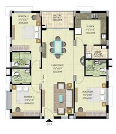 8256ground floor plan 35x60 building floor 35x60 house plans