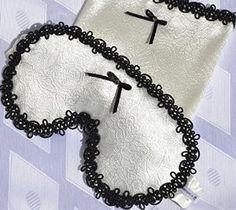 EXCLUSIVE WHITE SLEEP MASK WITH BLACK BOW http://www.amazon.co.uk/dp/B013OTYP2M