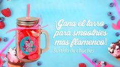 ¡Gana el tarro para smoothies más flamenco!