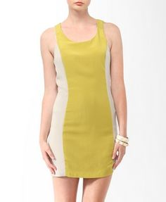 Colorblocked Cutout Back Dress from Forever21.com