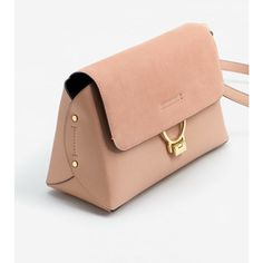 MANGO Leather flap bag ($80) ❤ liked on Polyvore featuring bags, handbags, shoulder bags, red shoulder bag, leather flap handbags, long strap shoulder bags, red purse and buckle purses