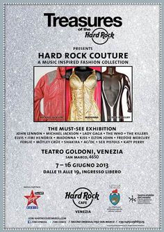 #HardRockCouture #Exhibit #Fashion #Rock #MichaelJackson #Madonna #FreddieMercury #Queen #Memorabilia