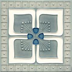 Golem Kunst- und Baukeramik GmbH | Art Nouveau tiles decorated | Art Nouveau…