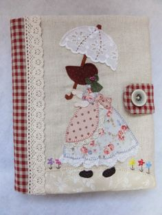 Grown up Sunbonnet Sue :) Applique Patterns, Applique Quilts, Applique Designs, Embroidery Applique, Quilt Patterns, Embroidery Designs, Sunbonnet Sue, Quilting Projects, Sewing Projects