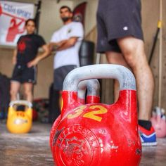 Lifters and bells ready to lift  ---------------------------------- #kettlebell #kettlebells #kettlebelljerk #kettlebellkings #kettlebellsnatch #kettlebellsport #kettlebellswings #homegym #garagegym #strength #crossfit #equinox #fitness #hiit #hiitworkout