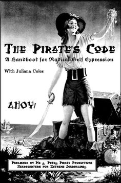 The Pirate's Code by julianacoles on Etsy
