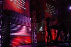Metal Times Four | Church Stage Design Ideas