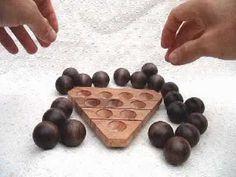 Pirámide de bolas Wood Games, Puzzle Art, Outdoor Games, Math Games, Wooden Toys, Puzzles, Woodworking Projects, Chocolate, Creative
