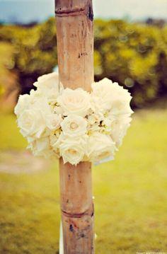 Bamboo roses