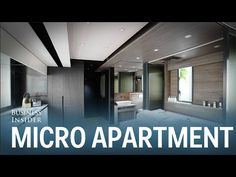 Business Insider: This 309-square-foot micro apartment has a home theater, full kitchen, and even a guest bedroom