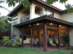 ☀Private Unit Like No Other ☀Serene, Tranquil, Fully Equipped ☀ - Puako Indian Home Design, Kerala House Design, Village House Design, Village Houses, Spanish Style Homes, Spanish House, Classic House Design, Modern House Design, Internet Tv