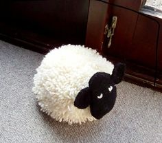 Sheep Door Stop by KatieChucklemouse on Etsy, £30.00  Need to make some sort of sheep door stop with lavender stashed in it for craft room :)