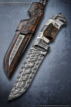 Work from 2010 | André Andersson Custom Knives