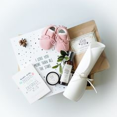 Welcome baby box by Little Poppy Supply Co.