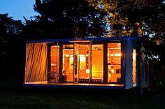 Port-a-Bach: een prachtige wooncontainer geschikt als vakantiehuisje