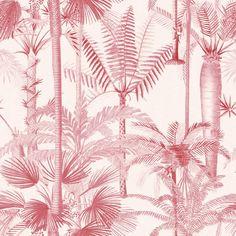 Mind the Gap Palmera Cubana Pink Wallpaper - 1 box (3 drops)