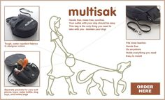 multisak | FREEPLAY DOG ACCESSORIES | Accessories for Responsible Dog Lovers