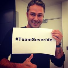 REPIN to show your #TeamSeveride support!