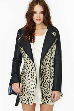 Wild Thing Faux Fur Coat by Nasty Gal